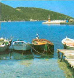 BEACON IN ITHAKI ISL