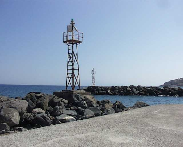 BEACON IN NISIROS ISL