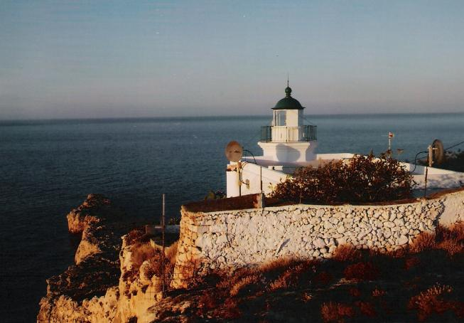 Lighthouse in Drepano